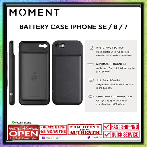 iPhone SE 2020 / 8 / 7 Moment Battery Case 3800 mAH