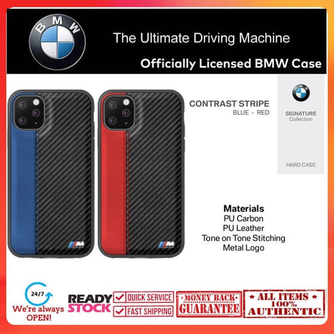 Case iPhone 11 Pro Max / 11 Pro BMW OFFICIAL Contrast Stripe