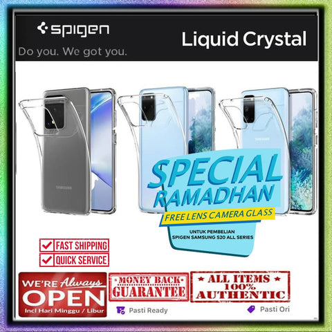 Samsung Galaxy S20 Ultra / S20 Plus / S20 Case SPIGEN LIQUID CRYSTAL