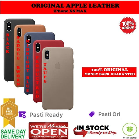 Apple iPhone XS MAX Case Leather (ORIGINAL 100%)