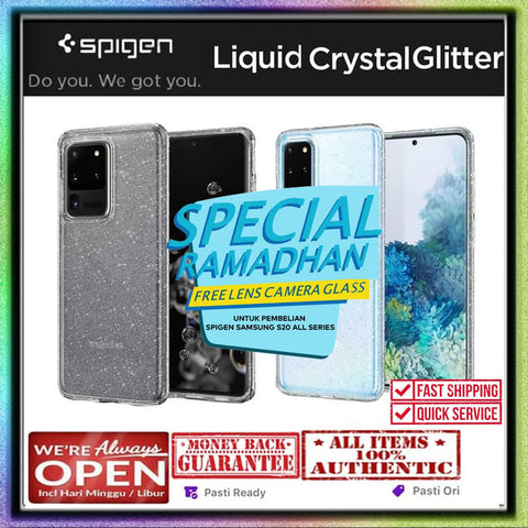 Samsung Galaxy S20 Ultra / S20 Plus / S20 Case SPIGEN LIQUID GLITTER