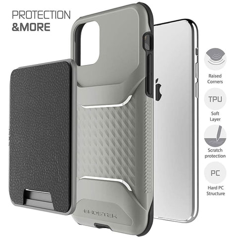 iPhone 11 Pro Max / 11 / 11 Pro Case GHOSTEK EXEC Wallet Leather