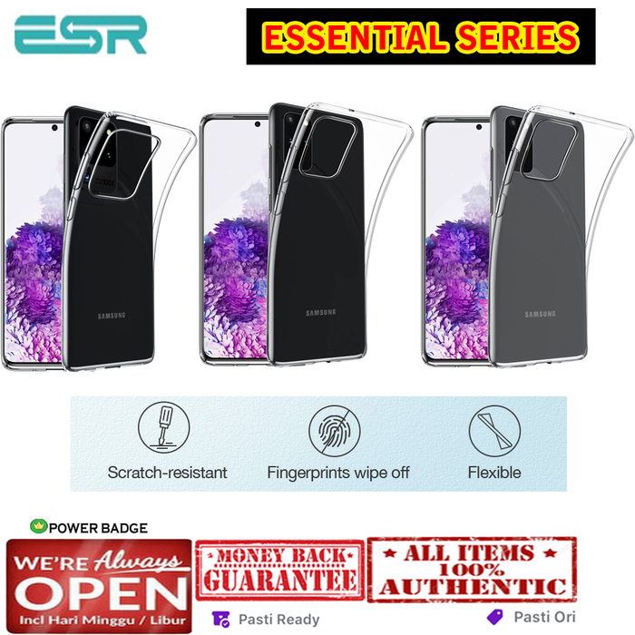 Samsung Galaxy S20 Ultra / S20 Plus / S20 Case ESR ESSENTIAL ZERO