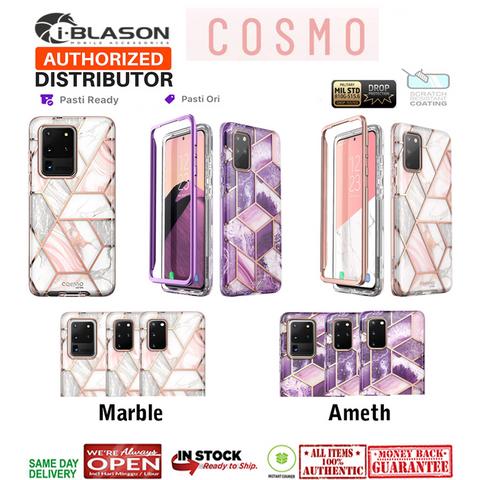 Samsung Galaxy S20 Ultra / S20 Plus / S20 Case I-BLASON COSMO