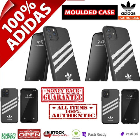 iPhone 11 Pro Max / 11 Pro / 11 Case ADIDAS Moulded Black/White