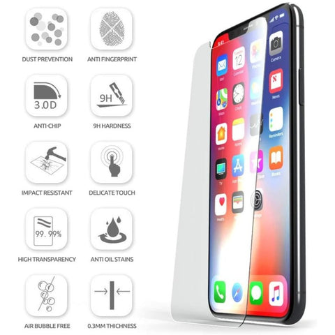 iPhone 11 Pro / iPhone XS / X SUPCASE Premium Tempered Glass (2Pack)