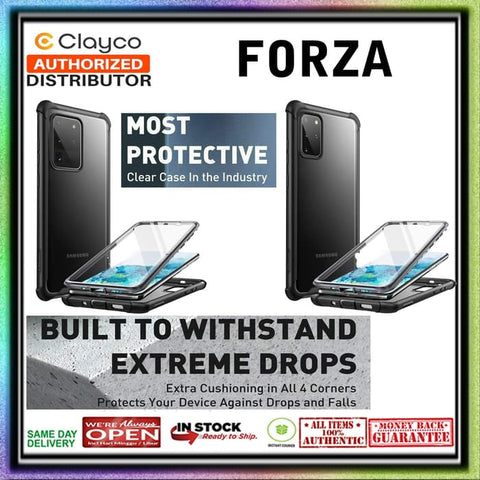 Samsung S0 Ultra / S20 Plus Case CLAYCO FORZA Full Body Rugged