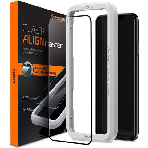 iPhone 11 Pro Max / 11 Pro / 11 Tempered Spigen AlignMaster Full Cover