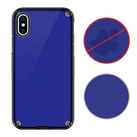 Patchworks iPhone XS MAX Case LEVEL VISION Navy Black