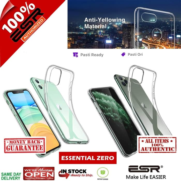 Case iPhone 11 Pro Max / 11 Pro / 11 ESR Essential Zero Soft Case