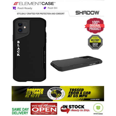 iPhone 11 / 11 Pro / 11 Pro Max Case Original ElementCase SHADOW