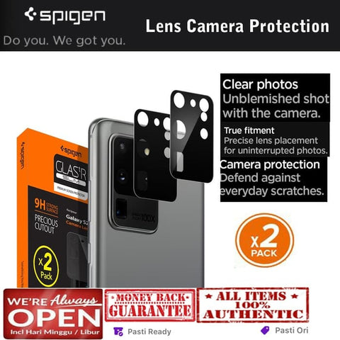 Samsung Galaxy S20 Ultra Case SPIGEN CAMERA LENS PROTECTOR (2 Pcs)