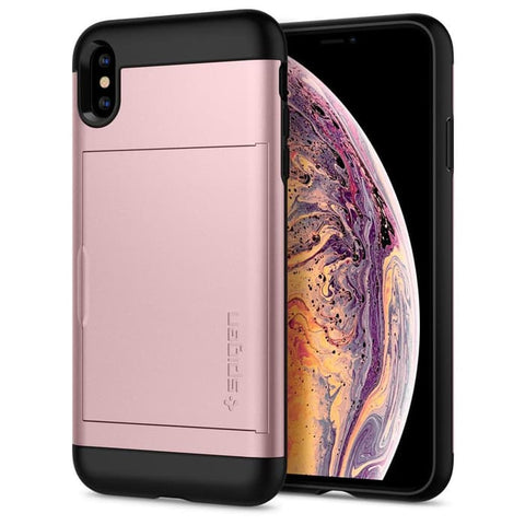 Spigen iPhone XS Max Case Slim Armor CS Rose Gold (ORIGINAL)