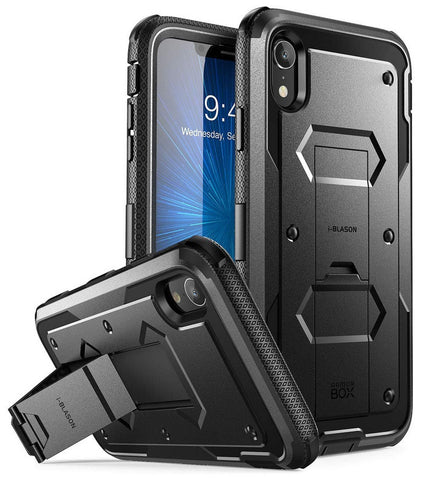 i-Blason iPhone XR Case Armorbox with Screen Protector