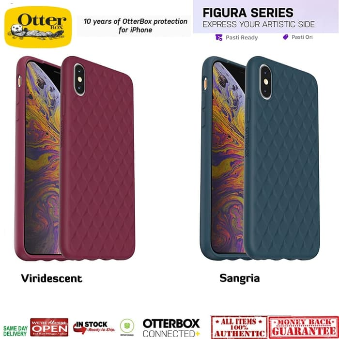 iPhone XS Max Case Otterbox Figura Series - Viridescent