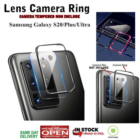 Samsung S20 Ultra / S20 Plus / S20 Lens Ring Camera Protect Alumunium