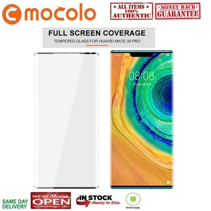 Tempered Glass Huawei Mate 30 Pro Mocolo Full Glass