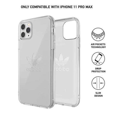 iPhone 11 Pro Max / 11 Pro / 11 Case ADIDAS Protective Clear Big Logo