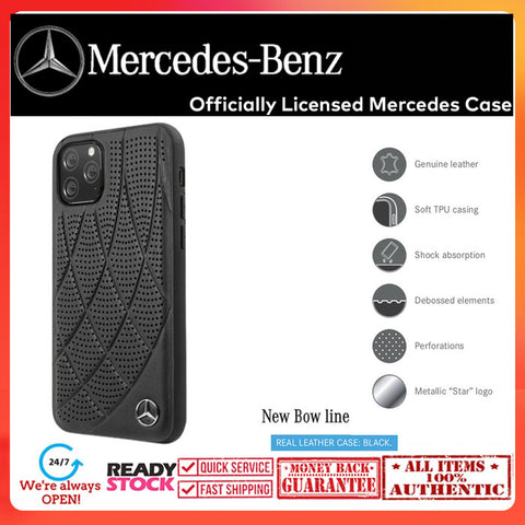 Case iPhone 11 Pro Max / 11 Pro MERCEDES OFFICIAL New Bow Line