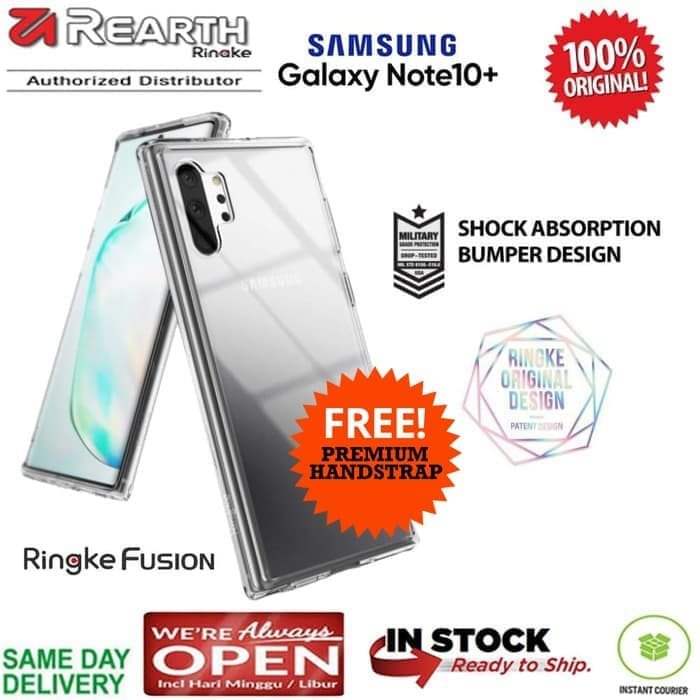 Samsung Note 10 Plus Case Ringke Fusion