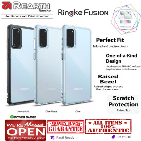 Case Samsung Galaxy S20 Ultra / S20 Plus / S20 RINGKE FUSION
