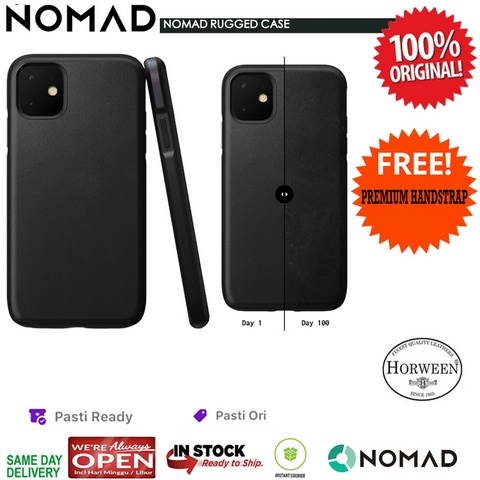 Nomad Rugged Leather Case iPhone 11 Pro Max / 11 Pro / 11 Original