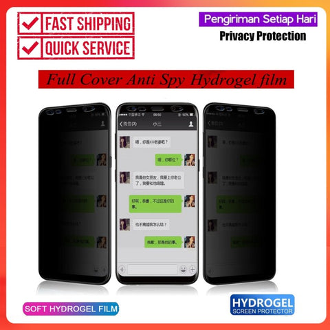 AntiSpy iPhone 11 ProMax/ 11 Pro / 11 Hydrogel PRIVACY