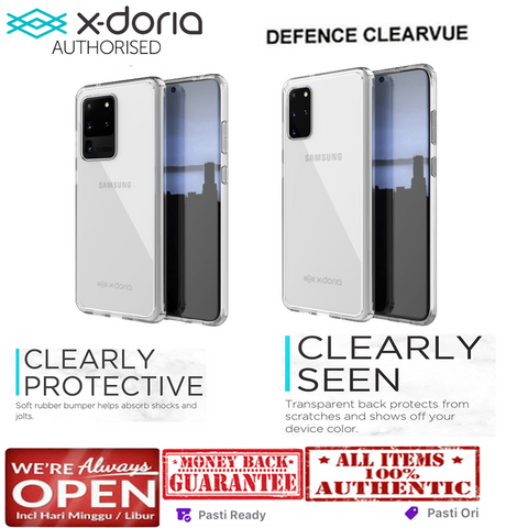 Samsung Galaxy S20 Ultra / S20 Plus / S20 Case X-DORIA CLEARVUE XDORIA