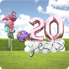Utah's Balloon provider for Contact Free Yard Decor