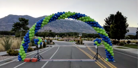 Utah Balloon 5k Starting Line