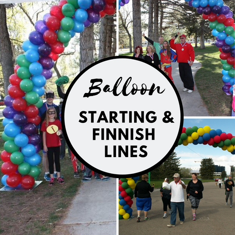 Balloon Starting and Finish Lines