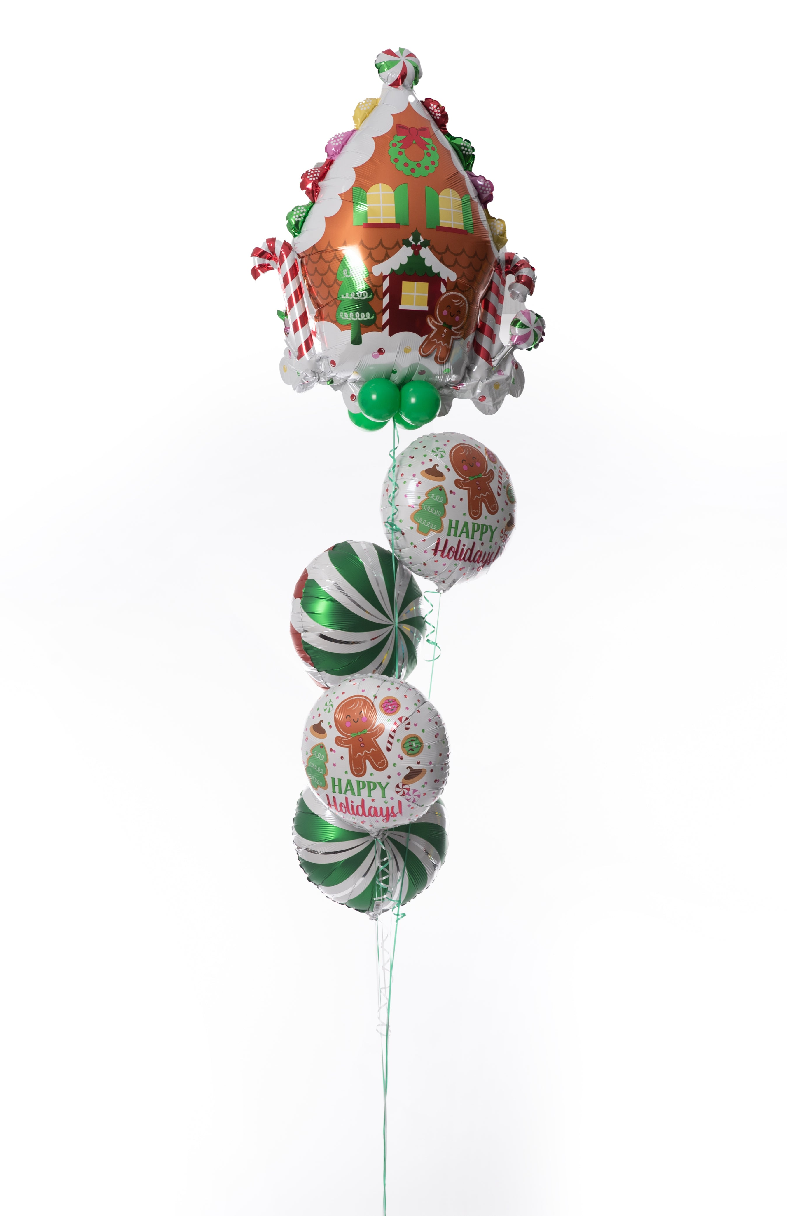 Gingerbread Cookie Balloon Bouquet