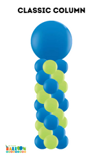 Load image into Gallery viewer, Classic Balloon Column with Topper Options