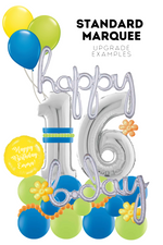 Load image into Gallery viewer, Standard Balloon Marquee with Customization Options