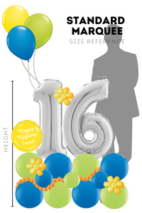 Standard Balloon Marquee with Customization Options