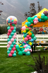 Classic Balloon Column with Topper Options
