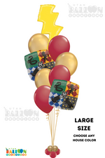 Load image into Gallery viewer, Harry Potter Balloon Bouquet