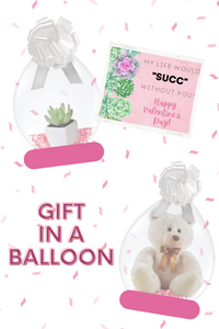 Valentine's Day Gift in a Balloon - Stuffed Balloon