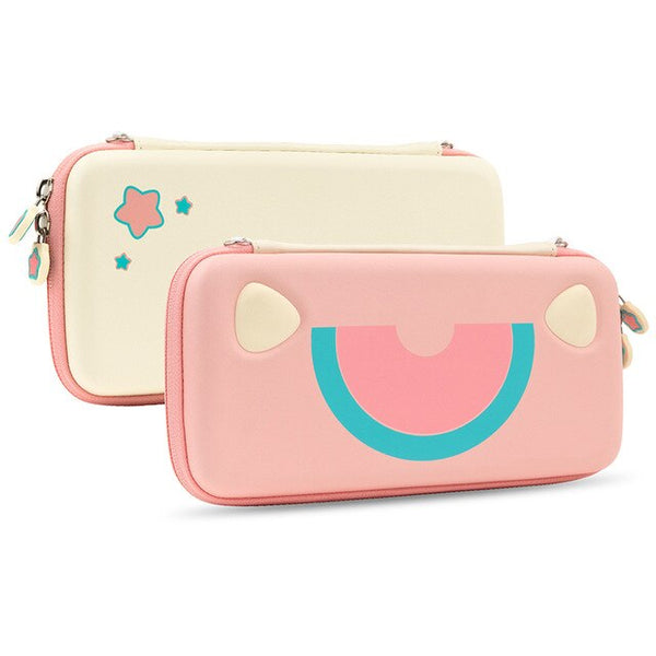 Pink Cute Cat Storage Bag
