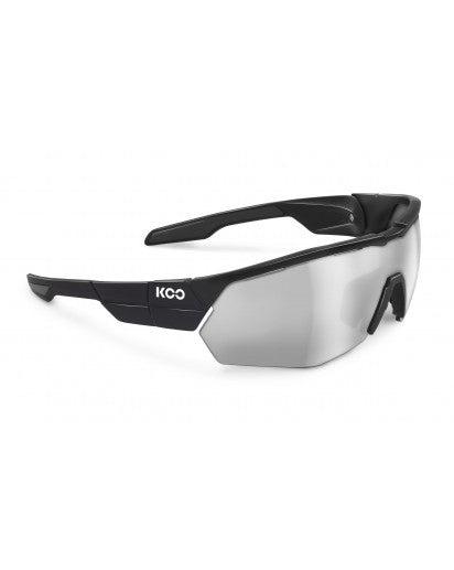 Koo open cube sunglasses - black