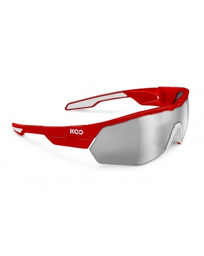 Koo open cube sunglasses - red