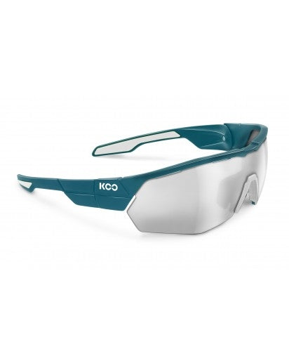 Koo open cube sunglasses - Pine/White