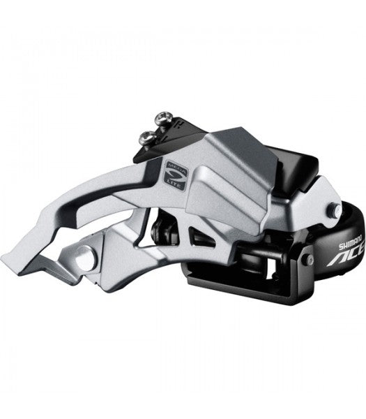 Acera M3000 triple front derailleur top swing, dual-pull, 9-speed 63-66