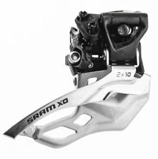 SRAM X0 FRONT DERAILLEUR - 2X10 LOW CLAMP 31.8/34.9BOTTOM PULL