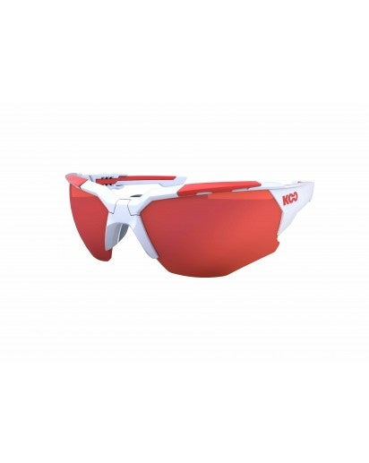 Koo Orion Sunglasses White/Red
