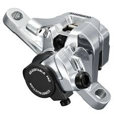 BR-R517 calliper, without rotor, IS or post mount, front, silver