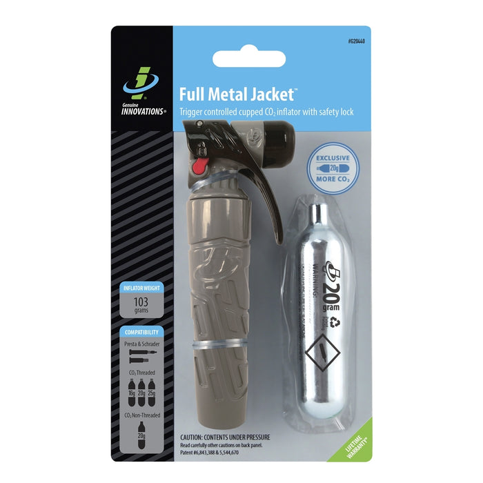 Genuine Innovations Full Metal Jacket Trigger Co2 Inflator