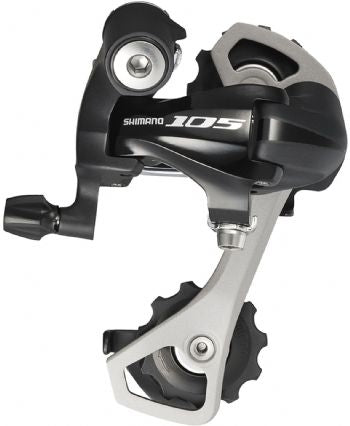 RD-5701 105 10-speed rear derailleur, GS, max 32T with double c/set, black