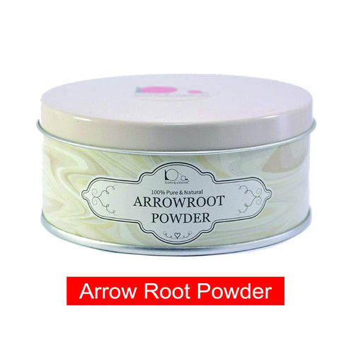 Arrowroot Powder for Skin Care - 100 gm - weaveskart.com - LAW India (looms & weaves)