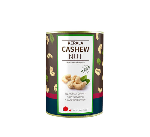 Premium Non-Roasted Cashew from Kerala - 500 gm - weaveskart.com - LAW India (looms & weaves)